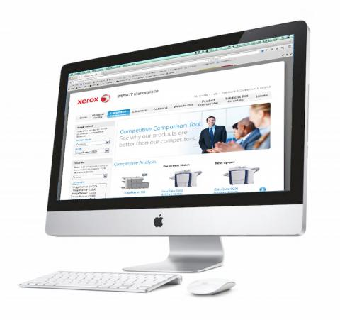 Competitive Comparison tool for Xerox Resellers